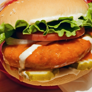 Buffalo Chicken Ranch Sandwich